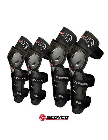 Rodilleras Scoyco K12 Negras