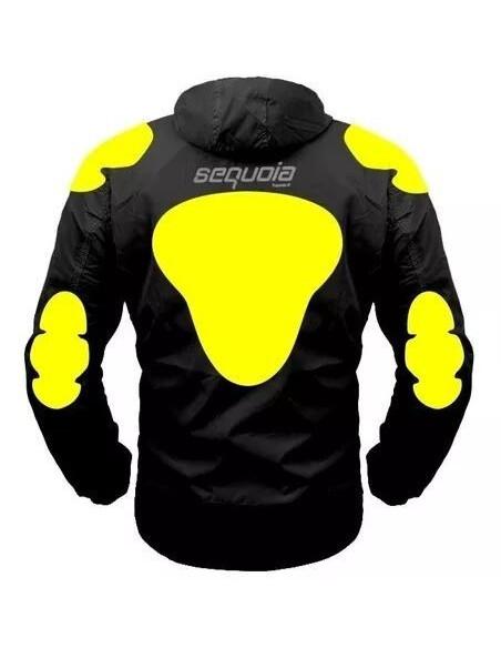 Chaqueta Reflectiva Firefly II con Protecciones Moto Motociclista Reflectiva Negra/Gris Neon - Moto - Bicicleta - Ciclismo - 6 -