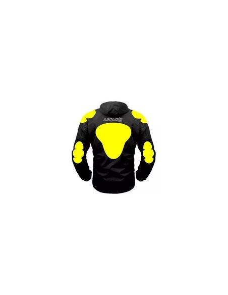 Chaqueta Cortaviento con Protecciones Moto - Motociclista - Ciclismo - Bicicleta para Damas - 3 - Inicio