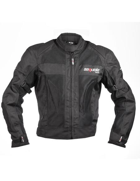 Chaqueta Mesh - Protección para Moto. Antifricción Hecha en Malla Transpirable con Impermeable Removible - 1 - Inicio