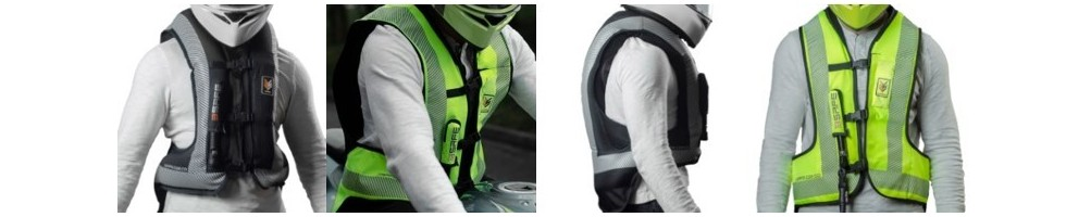 Chaleco Airbag Motociclista Colombia - Los Mejores Chalecos Airbag para Moto de Colombia